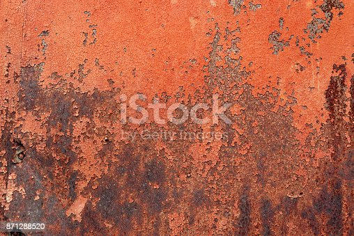 istock a piece of old rusty metal 871288520