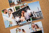 istock a printed copy of the wedding photos. the result of a photo session 1292700952