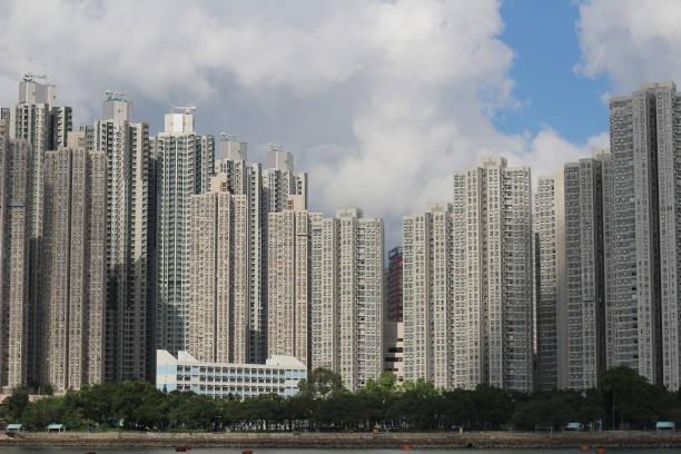葵青區一幢住宅樓圖像檔