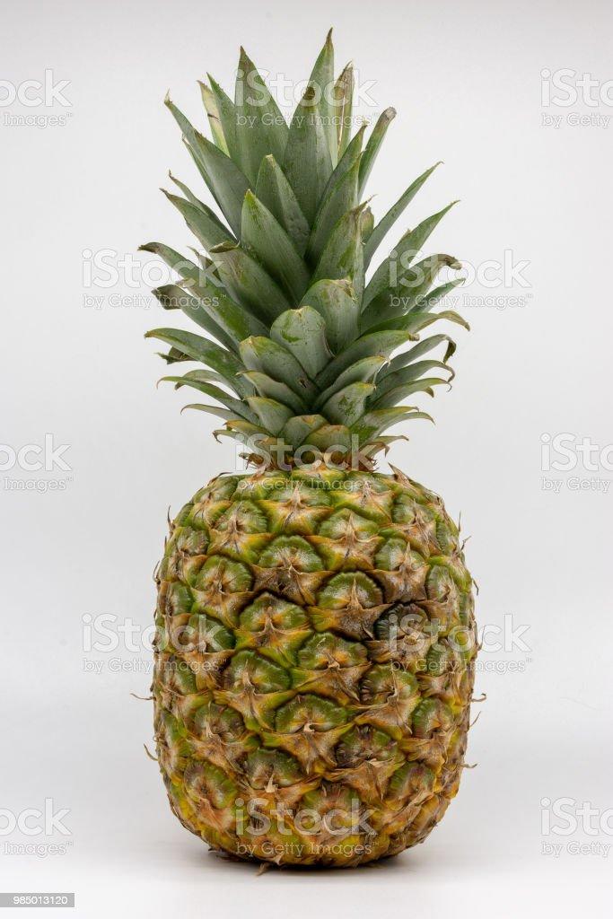 a ripe pineapple stock photo