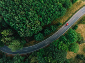 istock a road with a curve 1277505932