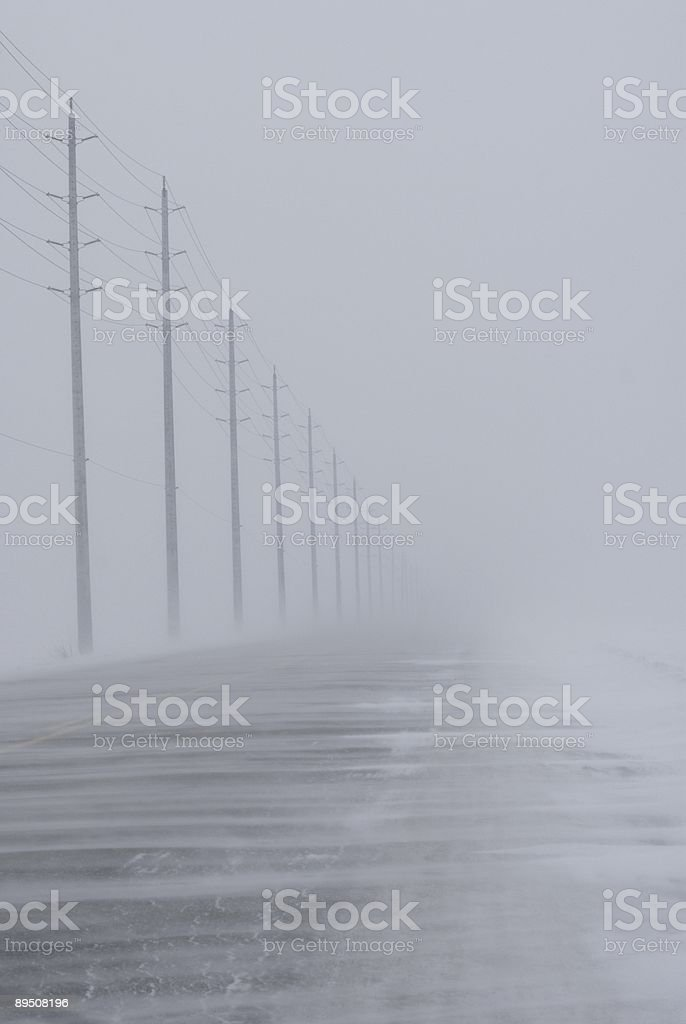 'a sample of winter driving 1' royalty-free stock photo