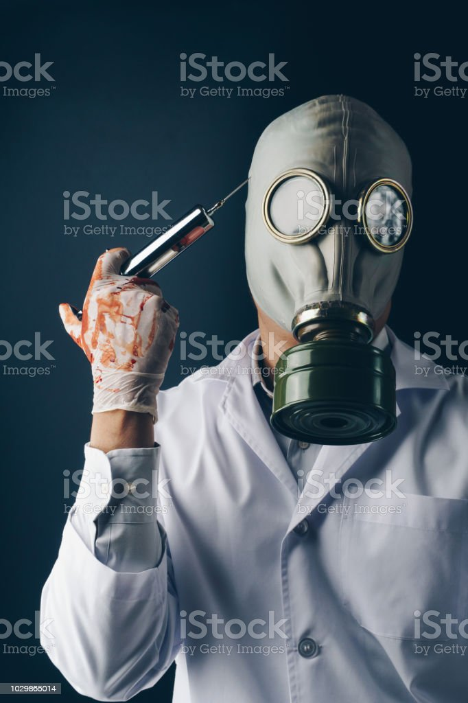 Creepy Gas Mask Pictures