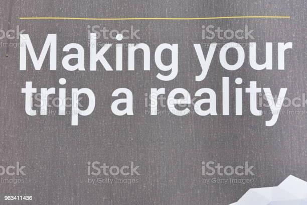 Signmaking Podróż Rzeczywistość - zdjęcia stockowe i więcej obrazów Bez ludzi