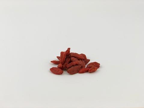 Een Kleine Schone Stapel Van Goji Bessen Stockfoto en meer beelden van Bes