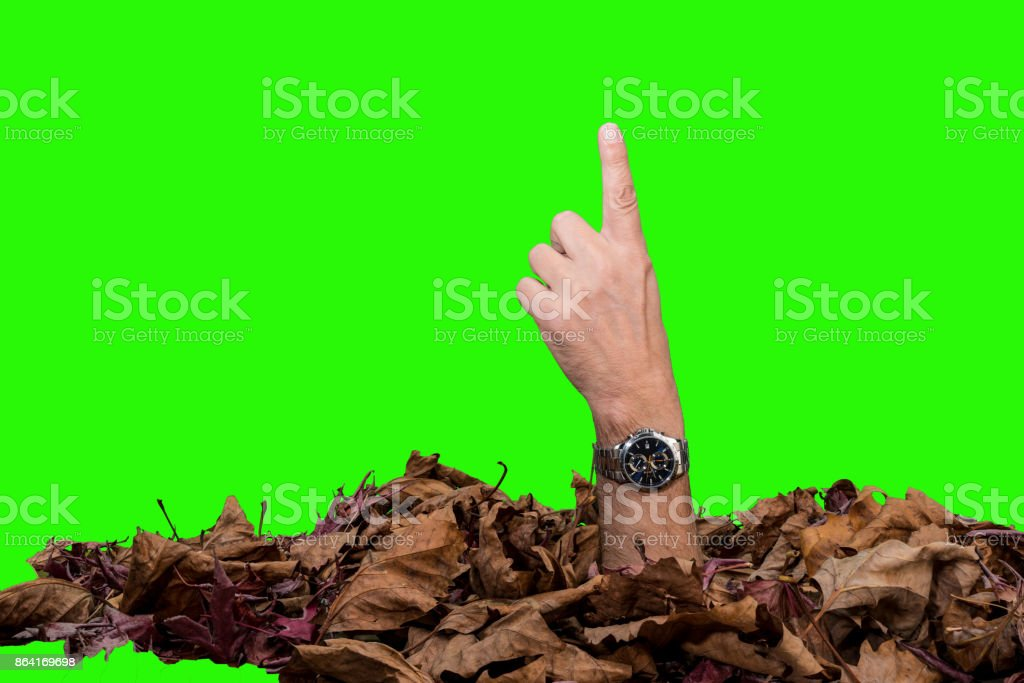 a surreal finger royalty-free stock photo