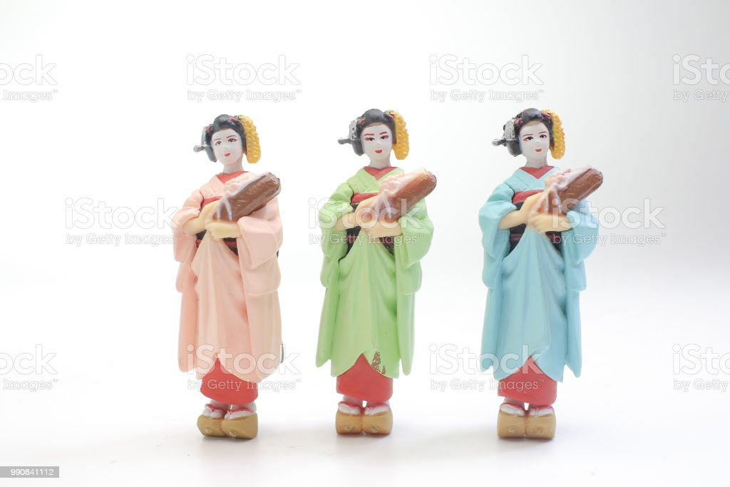 日本傳統娃娃小圖圖像檔