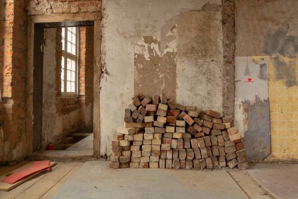 Ein sehr altes Haus ist umfangreich renoviert – Foto