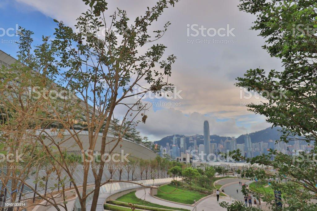 西九龍站天臺花園景觀圖像檔
