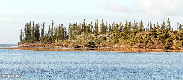 a wonderful landscape in Iles Des Pins, New Caledonia