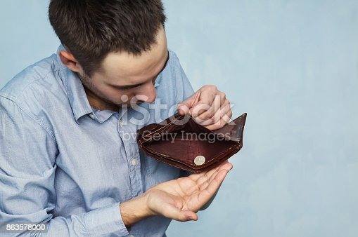 istock a young caucasian man in jeans 863578000