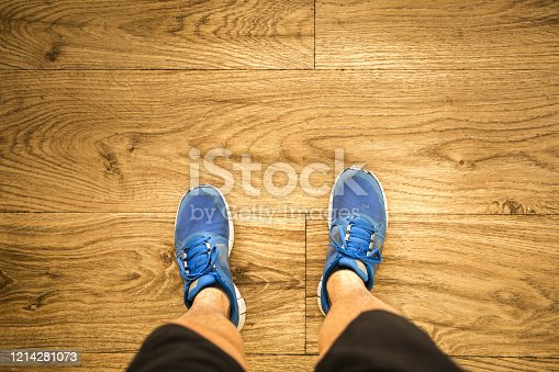 512698489 istock photo POV of a young man sportman 1214281073