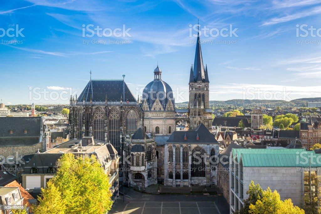 Aachener dom, Deutschland Lizenzfreies stock-foto
