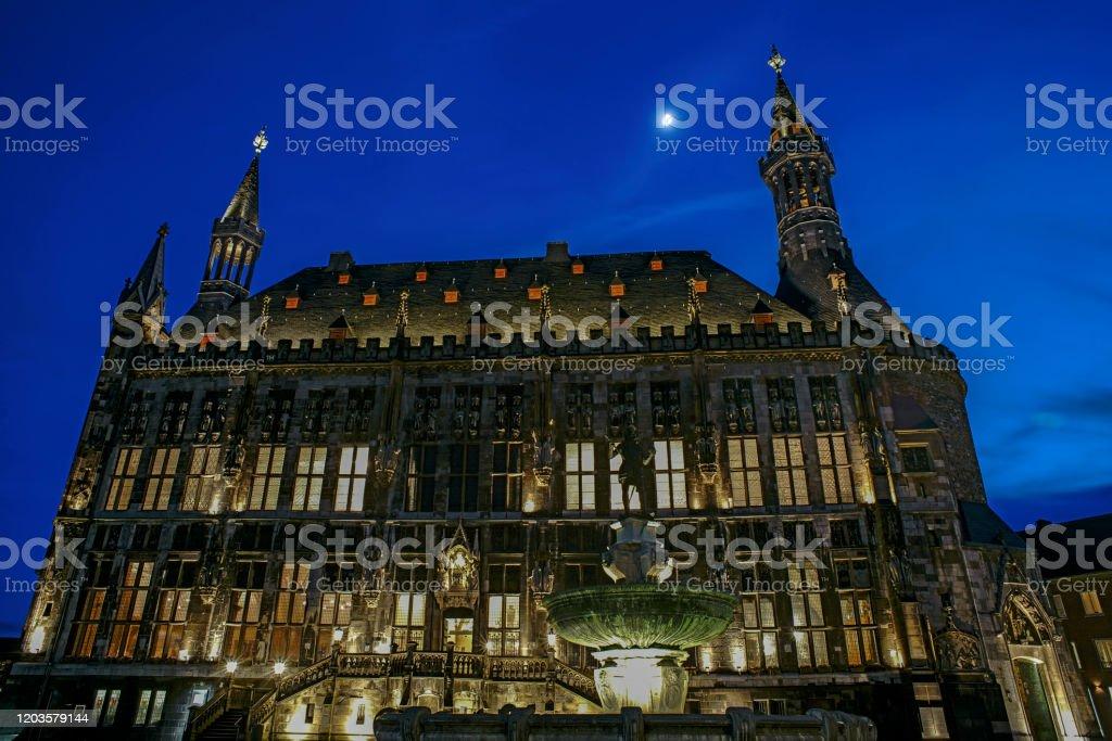 aachener rathaus - Lizenzfrei Architektur Stock-Foto