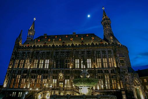 Aachener Rathaus Stockfoto und mehr Bilder von Architektur