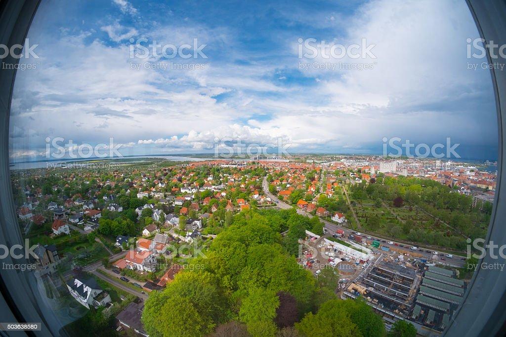 Aalborg stock photo
