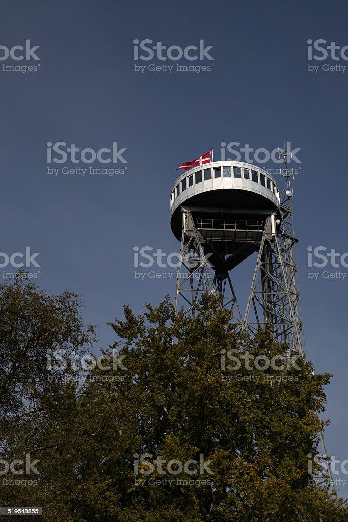 Aalborg tower stock photo