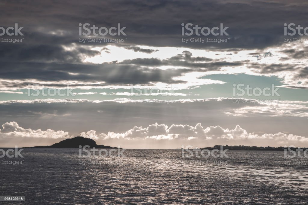 Aalesund west stock photo