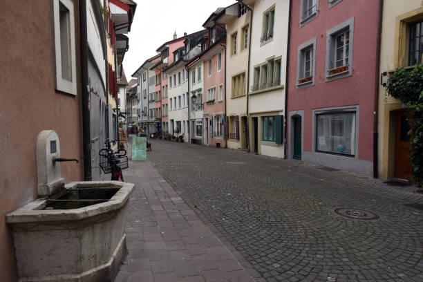 Aarau Old Town stock photo