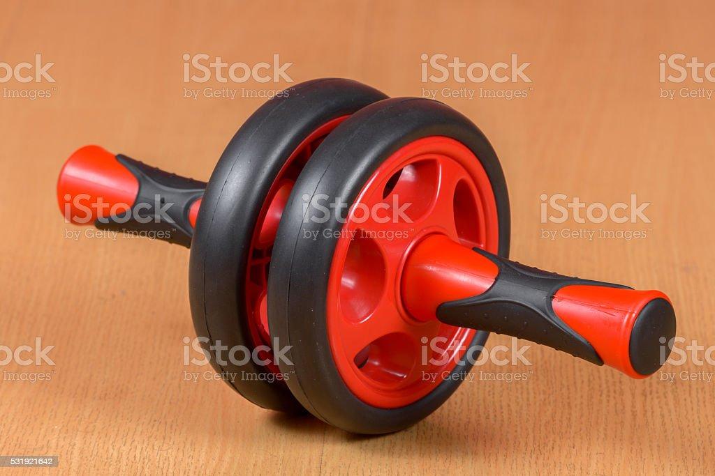 Ab wheel stock photo