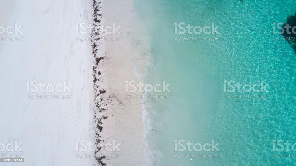 Abaco Island, Bahamas Aerial stock photo