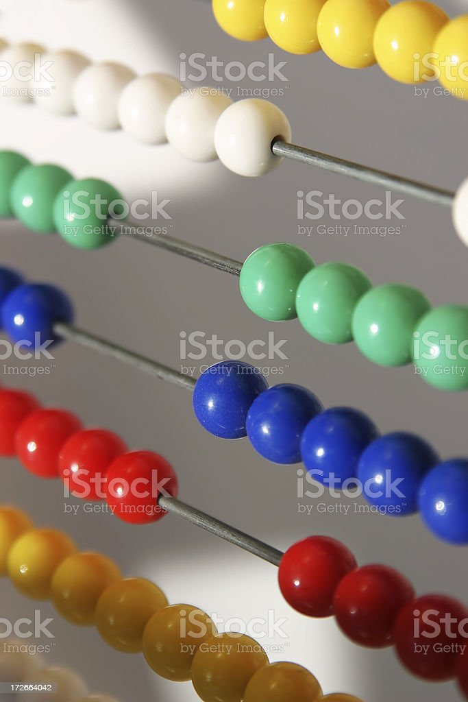 Abacus 1 royalty-free stock photo
