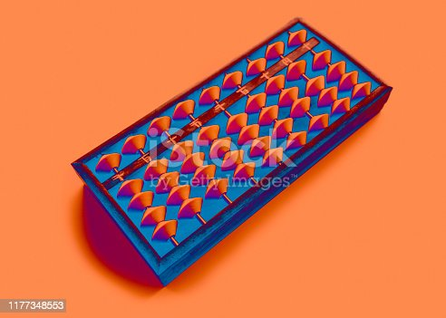 istock Abacus: bright colors surreal 1177348553