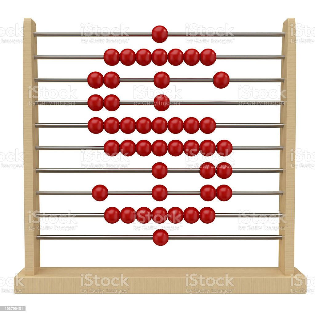Abacus Concepts royalty-free stock photo