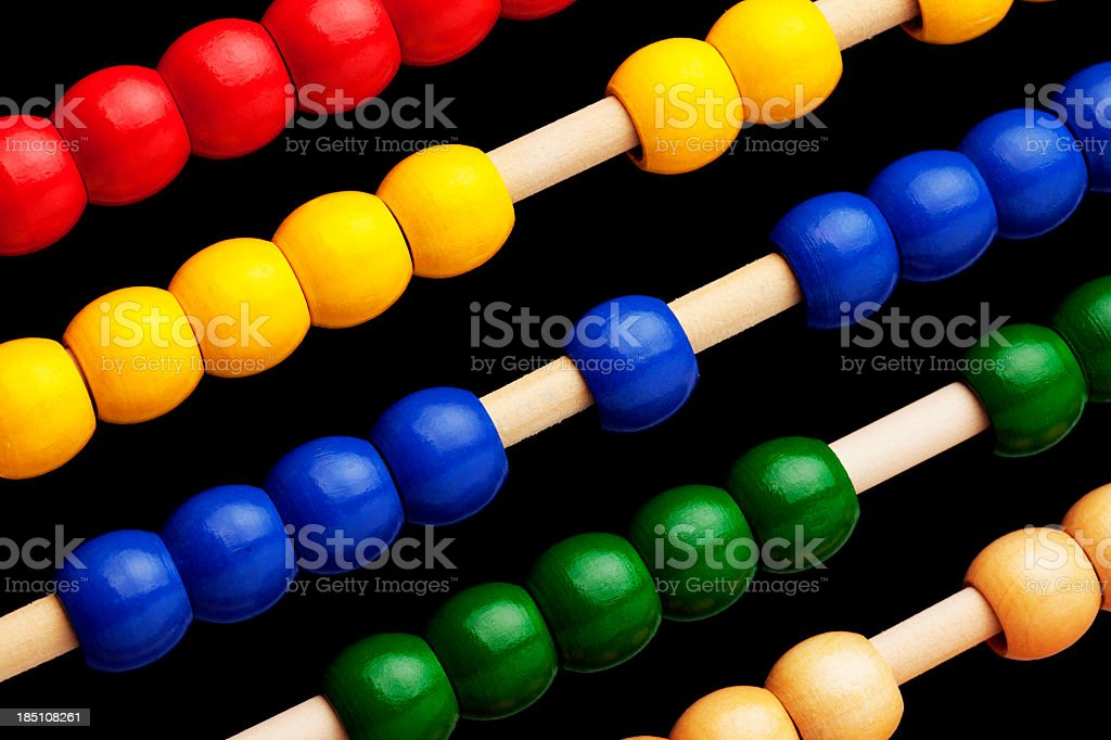 Abacus for Counting royalty-free stock photo