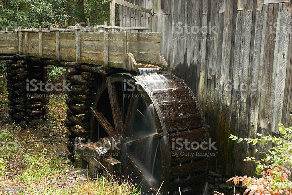 Abadoned Mill royalty-free stock photo