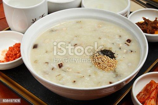 istock Abalone porridge 838497926