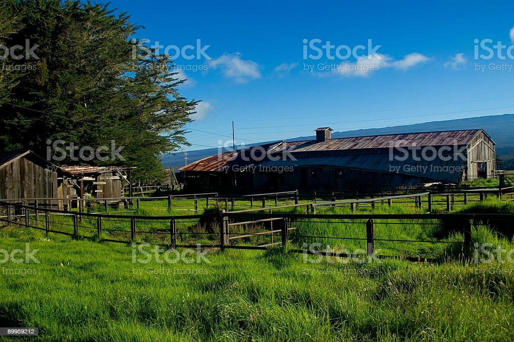 Abandoded Farm - 2 stock photo