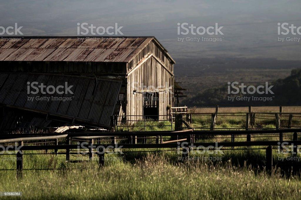 Abandoded Farm stock photo