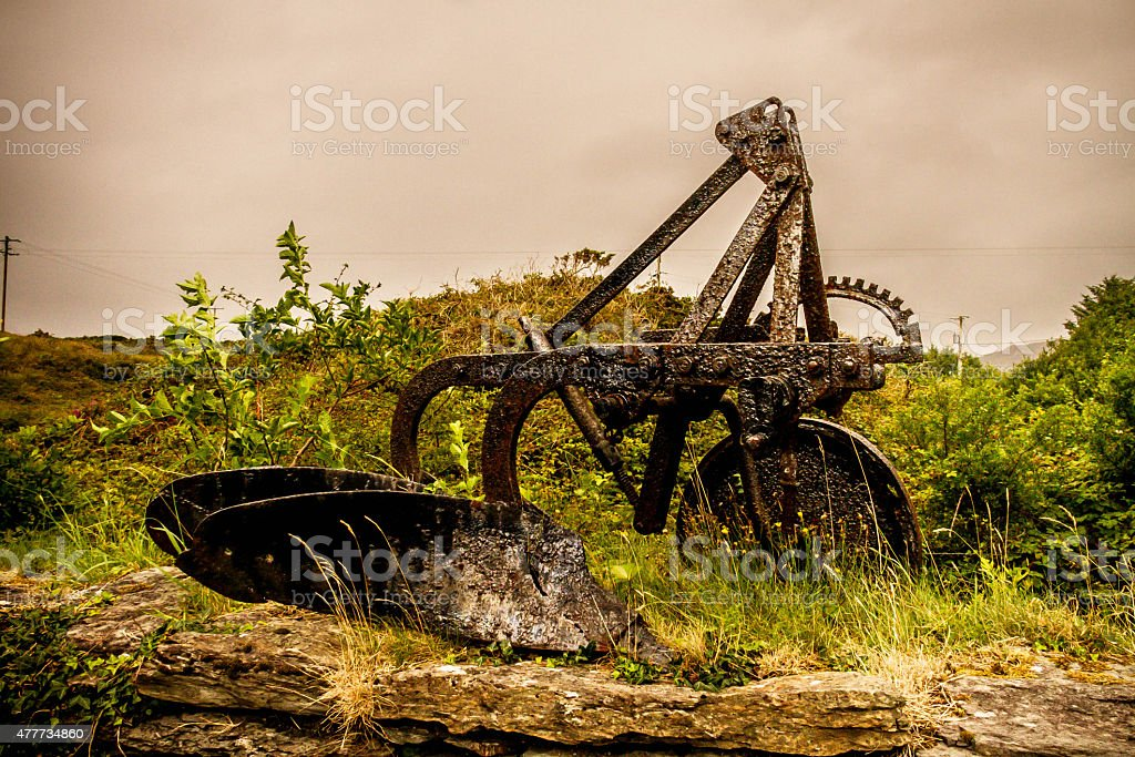 Abandon Agriculture Equipment stock photo