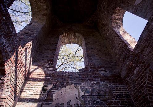 Verlaten Kerk In Georgië Stockfoto en meer beelden van Architectuur