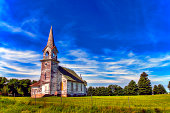 istock Abandon Church 1255264144