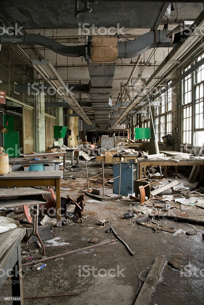 Abandonded School royalty-free stock photo