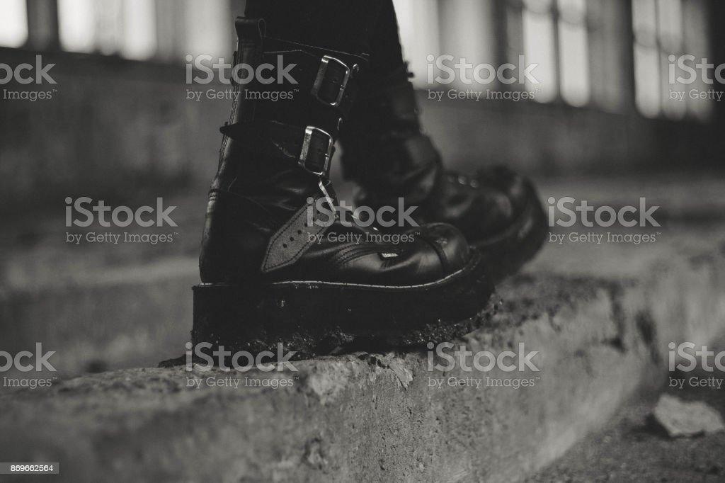 abandoned 8 stock photo