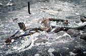 istock Abandoned and frozen bike 813232330