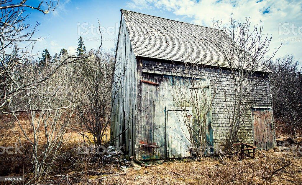 Abandoned Barn royalty-free stock photo