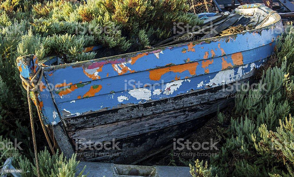 Abandoned Boat 3 royalty-free stock photo