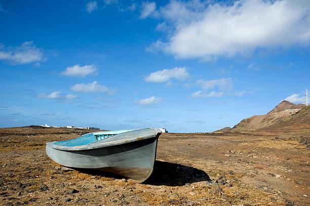 Verlassenen Boot – Foto