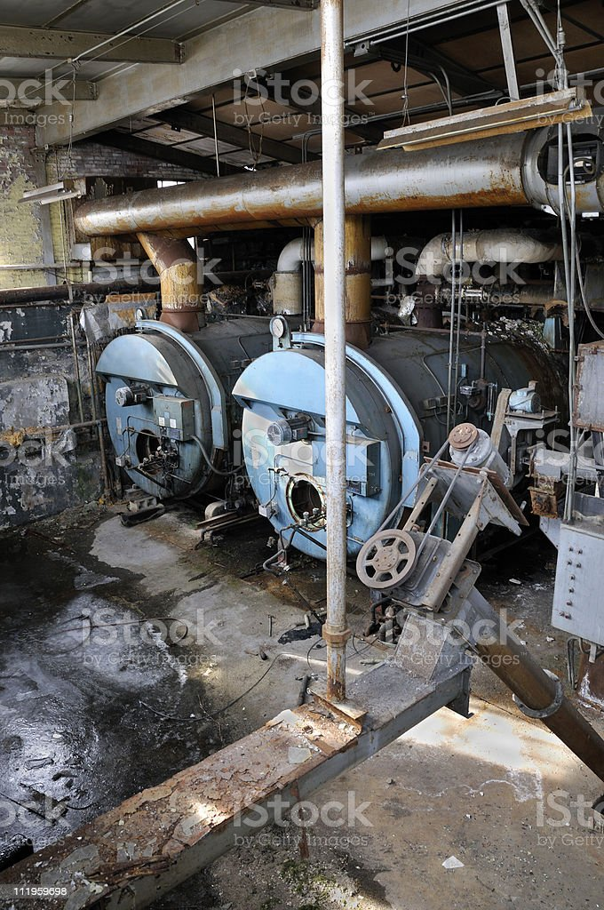 Abandoned Boiler Room Stock Photo & More Pictures of Abandoned   iStock
