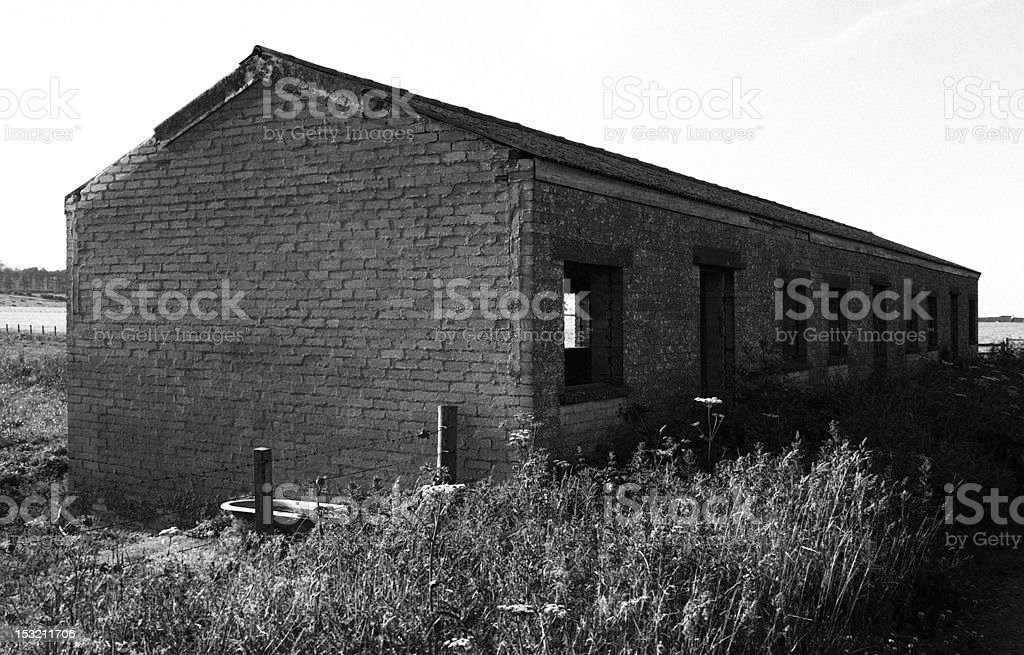 Abandoned bothy royalty-free stock photo