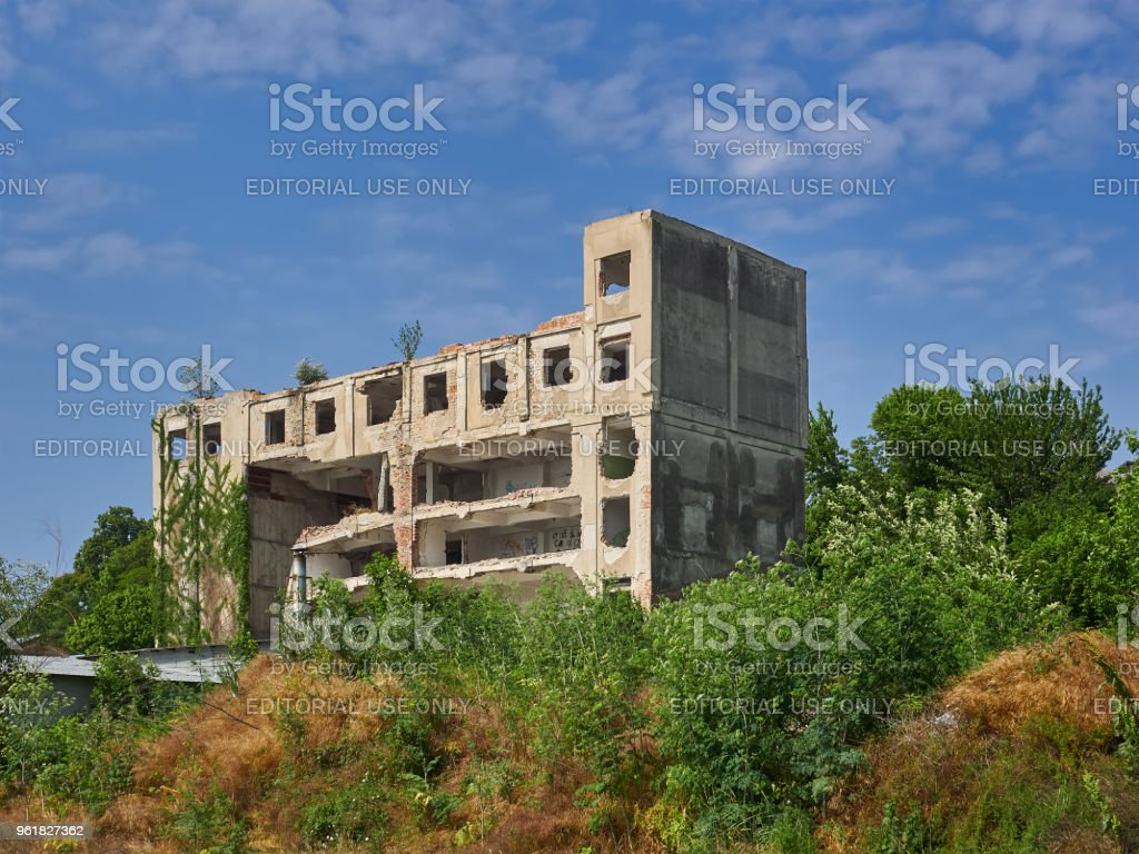 Abandoned Building In Braila Romania Stock Photo Download Image Now Istock