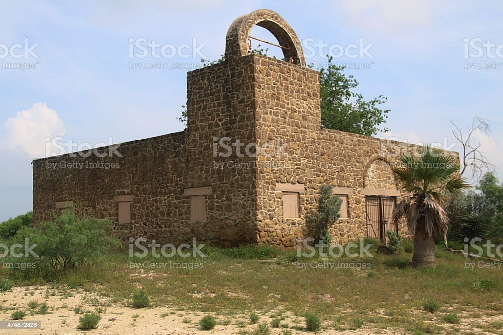 Abandoned Building - Laredo, Texas stock photo