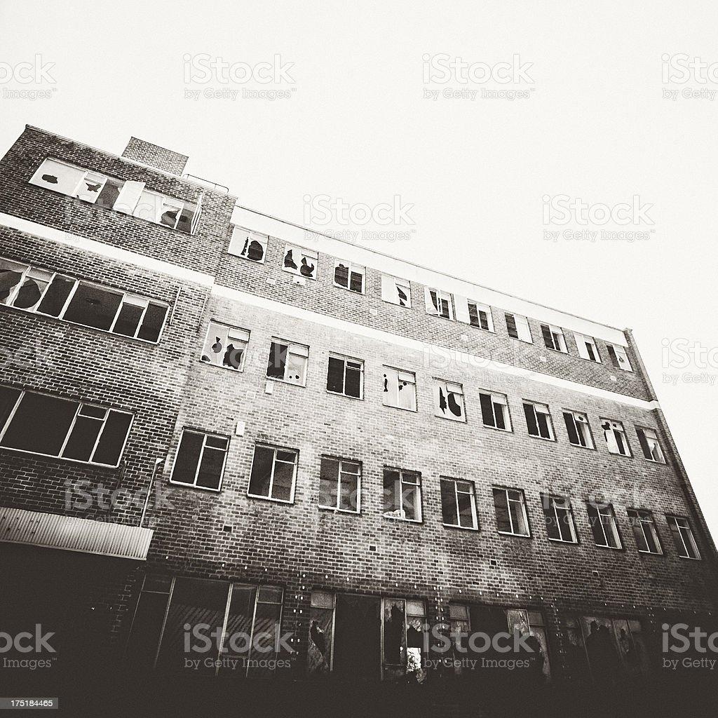 Abandoned building. stock photo