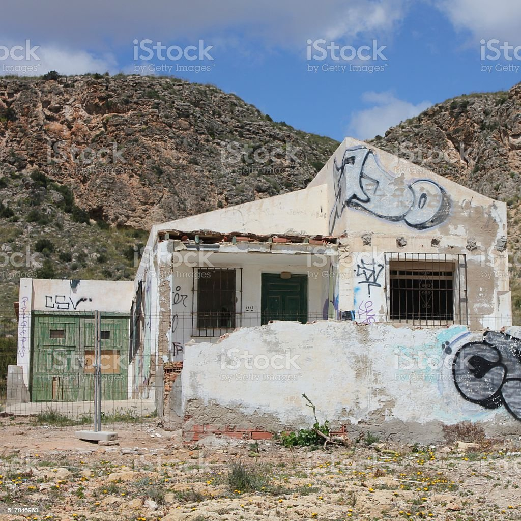 Abandoned Building stock photo