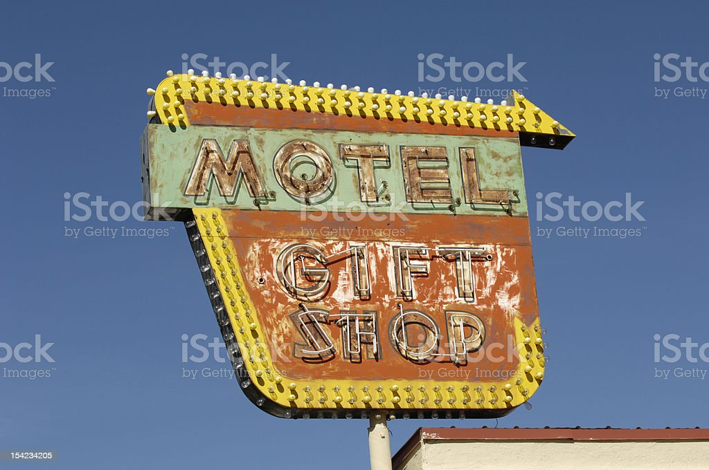 Abandoned  Building  Sign royalty-free stock photo