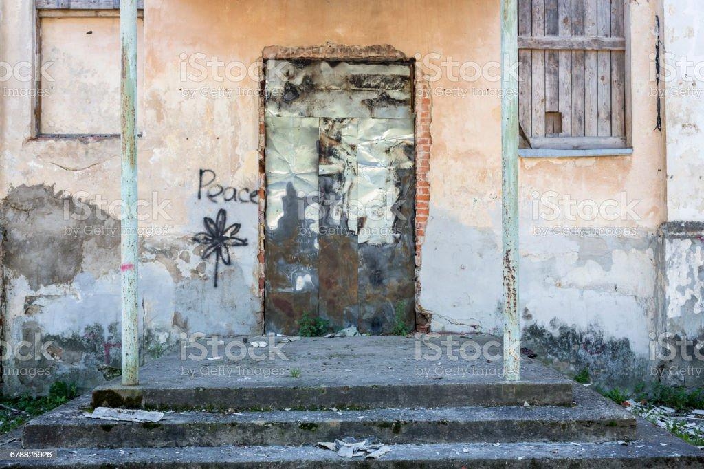Forteresse de Daugavpils de façade des bâtiments abandonnés photo libre de droits